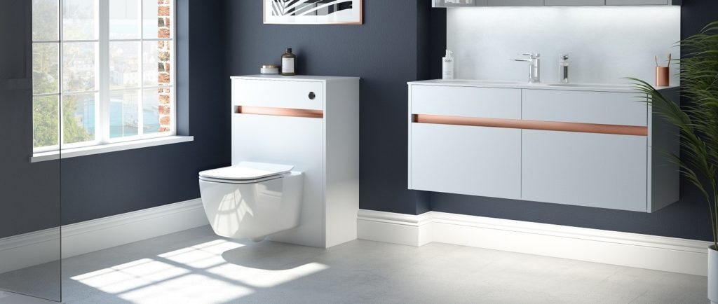 Utopia Bathrooms Contemporary fitted furniture
