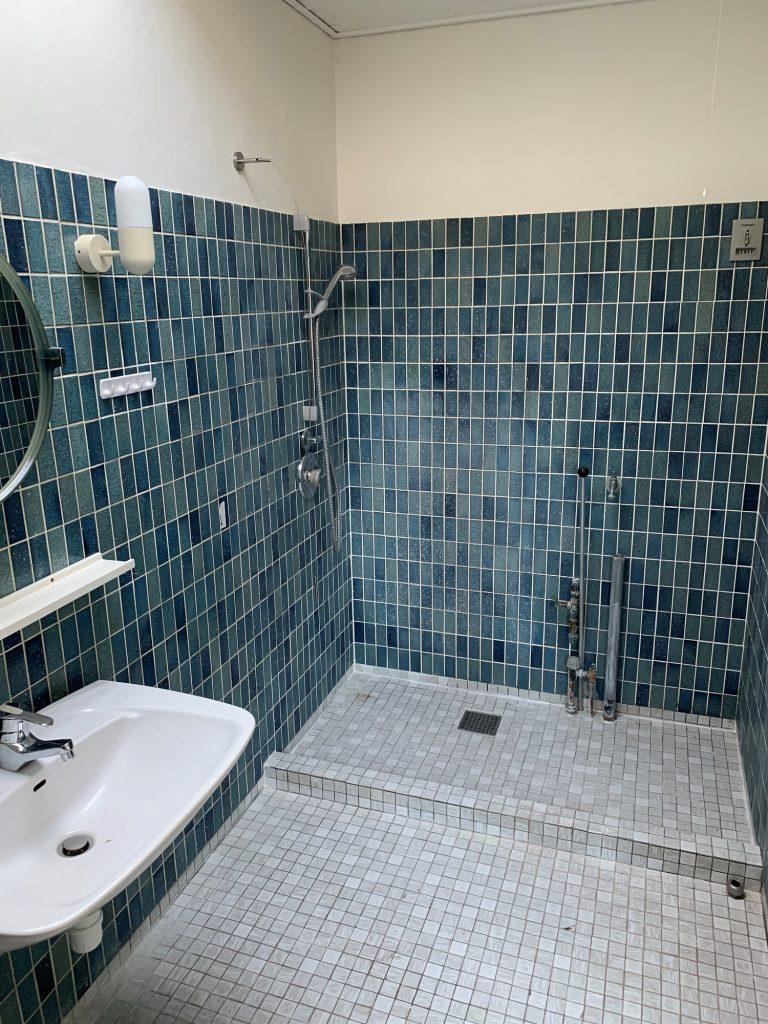Unidrain 1970s bathroom transformation