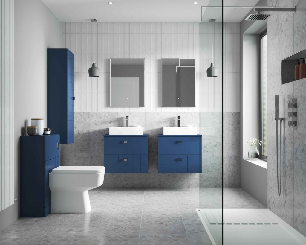 Nuie BLOCKS bathroom Furniture