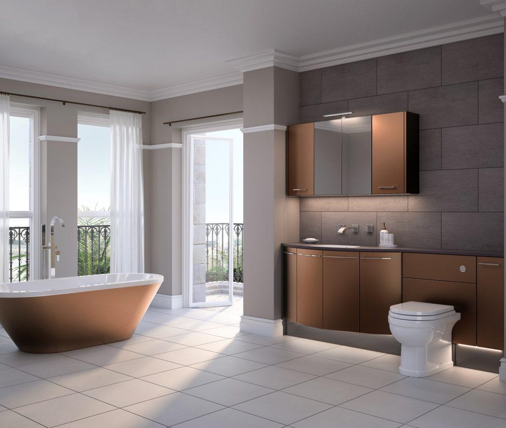 Sensuelle freestanding bath Utopia